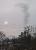 electric plant smoke